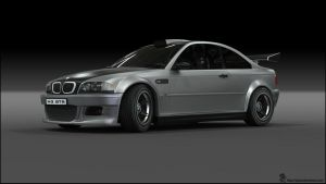BMW M3 GTR Custom 2 R2 by RJamp