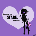 Enderman Valentine by DeathDragon13