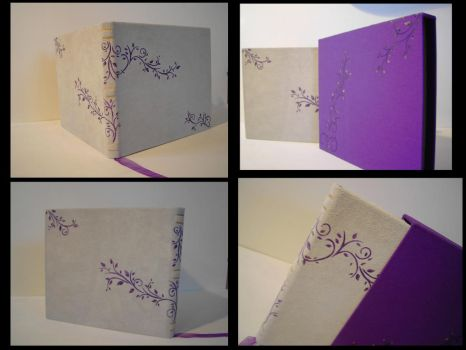 Leather Wedding Guestbook by Mitsukuni-Sempai