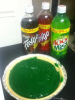 My Birthday Pie ... SLIME PIE :o) and some Faygos by 0h1337One