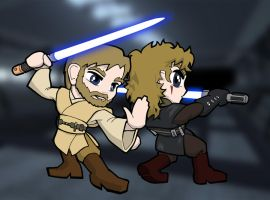 Skywalker + Kenobi by NiceMugOfTea