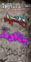 Graffiti Photoshop Styles by survivorcz