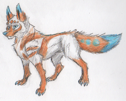 Updated Feral Kujo Design by BenRusk