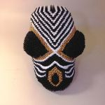 African Chevron Mask by goldengami