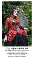 Vampire Queen Stock Gothic 003 by MADmoiselleMeliStock