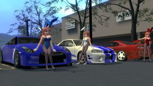 Bunny Mikurus Import Car Models by xSakuyaChan510x