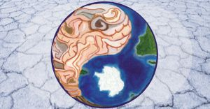 Ying Yang earth brain by amyhooton