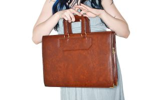 Vintage Expandable Briefcase by xLilithScreamx