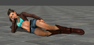 LaraClassicNew by tombraider4ever