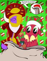 Merry Baconmas...I mean Christmas! :D by Cartuneslover16