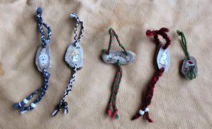 2012 Holiday Ornaments 1 by lupagreenwolf