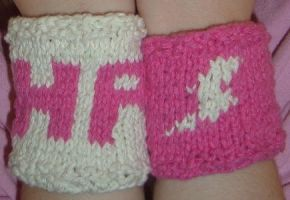 Harry Potter Wristbands by cuppybunny