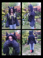 Toothless Hoody Handmade! by Tilly-Monster