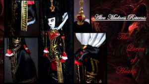 Alice Madness Returns: The Queen of Hearts Plush by akatsukinoshimo
