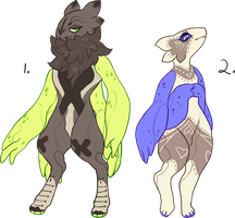 Thing Folk Adoptables by mute-owl