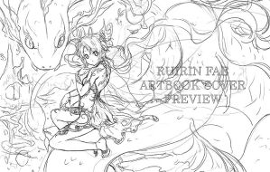 WIP: Ruirin Artbook Cover by Kaze-Hime