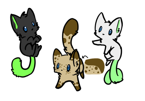 Adopts 4 Open by fluffenz