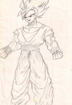 Son Goku by Angelwings22