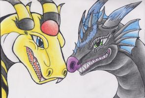 Dragon forms~ by LugiaUmbreonPower