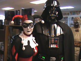 Free Comic Book Day and Vader? by HARLEYMK