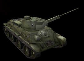 A-20 Model 1941 Medium/Light Tank by Hellomon100