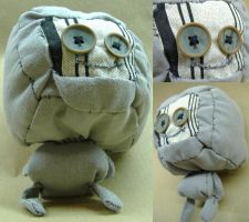 Robot Plush by philippajudith