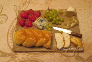 Miniature Cheese Board by TeenyTinyEats