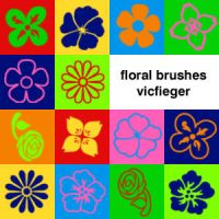 Floral Brushes by vcfgr