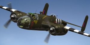 North American B25 Mitchell by Emigepa