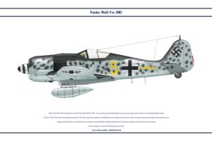 Fw190A8 JG300 3 by WS-Clave