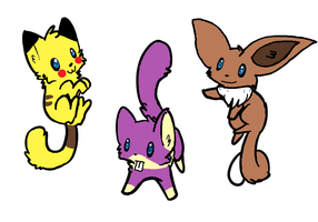 Pokemon Cat Adoptables 6 Open by Raysaur