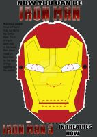Iron Man Cereal Mask by couteraction-comics