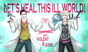 Violent and Gore [commercial] by 6night-walking9