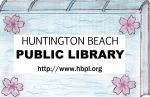 Huntington Beach Library Card Design by outlire