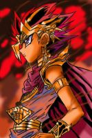 Atem's Hell Fire by CharlottesChronicles