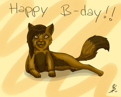 Happy B-day Leafessoul :D by ShinuLioness