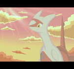 .:Art Trade:. Latias animation by poke-helioptile294