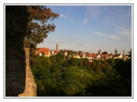 Rothenburg by Psycho-Kuscheldecke