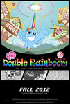 Double Rainboom Promotional Poster by FlamingoRich