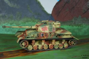 Panzer IV H left by 12jack12