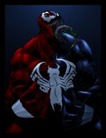 venom and carnage by darckArt78