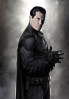 Josh Brolin as Batman by poumap