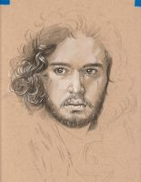 Jon Snow WIP II by TheLoveSong