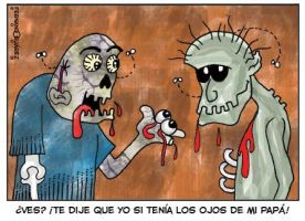 Zombies!! by FernandoSuarezArt