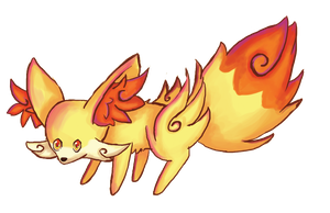 pokemon fennekin by mdbruin