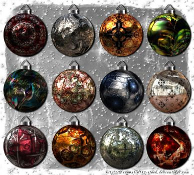 Christmas Balls Collection by BFstock