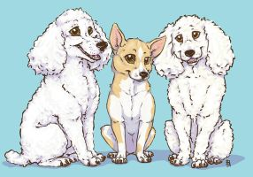 Jim's Dogs by cricket00fur