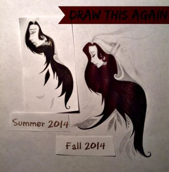 Draw This Again 2014 by BunniLuvify