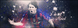Sign Lionel Messi by ROH2X