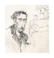James Thurber by LevonHackensaw